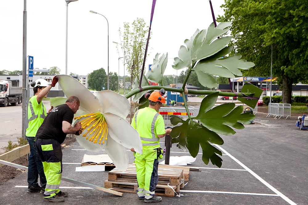 Niklas Mulari Offentlig Utsmyckning Konst Skulptur Södermanland